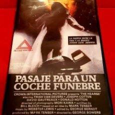 Cine: PASAJE PARA UN COCHE FUNEBRE (1980) - TERROR. Lote 144285458