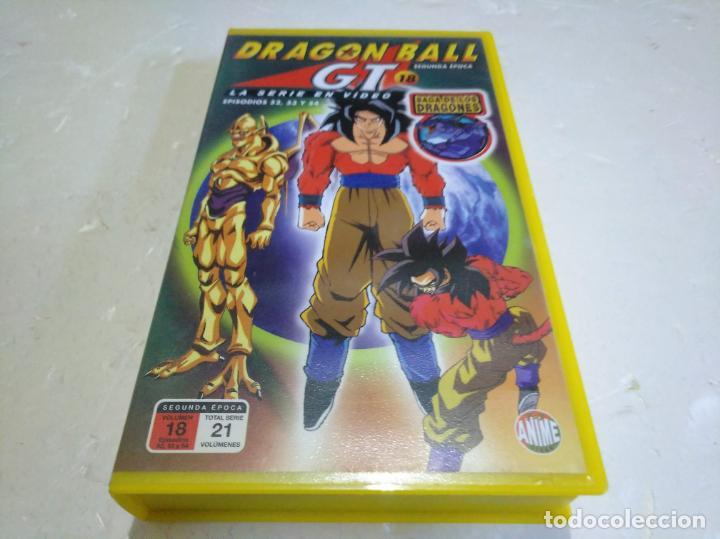 DRAGÓN BALL GT 18 EPISODIOS 52,52 Y 54 VHS (Cine - Películas - VHS)