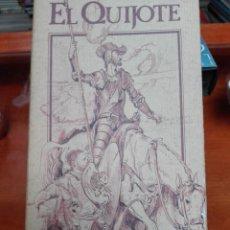 Cine: EL QUIJOTE CAJA DE 2 VIDEOS VHS. Lote 144774950