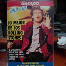 Cine: LO MEJOR DE LOS ROLLING STONES 1990 VIDEO VHS. Lote 144775122