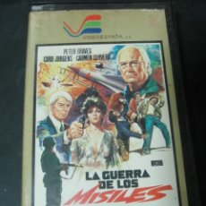 Cine: VHS VIDEO LA GUERRA DE LOS MISILES PETER GRAVES CARMEN TITA CERVERA JOHN CARRADINE NO EDITADA EN DVD. Lote 144813466