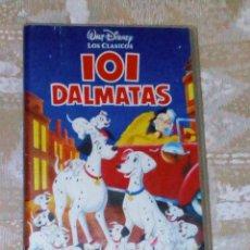 Cine: VENDO PELICULA VHS DE DISNEY (101 DALMATAS).. Lote 144988618