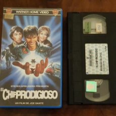 Cine: EL CHIP PRODIGIOSO - JOE DANTE - JEFFREY BOAM , CHIP PROSER - WARNER HOME VIDEO 1988. Lote 180170440
