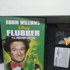 Cine: FLUBBER. VHS.(CAJA GRANDE).. Lote 145189422
