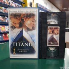 Cine: TITANIC VHS. Lote 145259768