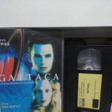 Cine: GATTACA. VHS.(CAJA GRANDE).. Lote 145341238