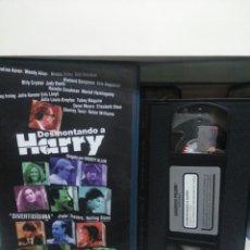 Cine: DESMONTANDO A HARRY. VHS.(CAJA GRANDE).. Lote 145368588