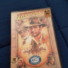 Cine: INDIANA JONES Y LA ÚLTIMA CRUZADA. DE VIDEOCLUB. 1990. Lote 145372694
