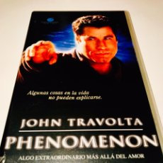 Cine: PHENOMENON VHS - JOHN TRAVOLTA. Lote 145453393
