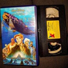 Cine: ATLANTIS EL IMPERIO PERDIDO. WALT DISNEY LOS CLASICOS. VHS. Lote 145459482