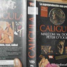 Cine: ''CALIGULA¡¡1 EDICCION CAJA GRANDE¡¡. Lote 145527686