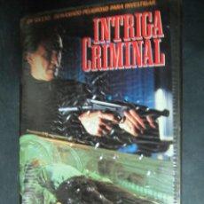Cine: VHS VIDEO INTRIGA CRIMINAL PELICULA NO EDITADA EN DVD AKA FIN DE SEMANA DE PESADILLA ZOMBIS . Lote 145782122