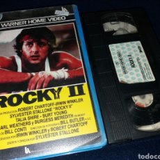 Cine: ROCKY 2- VHS- 1 EDICION- SYLVESTER STALLONE. Lote 145851560