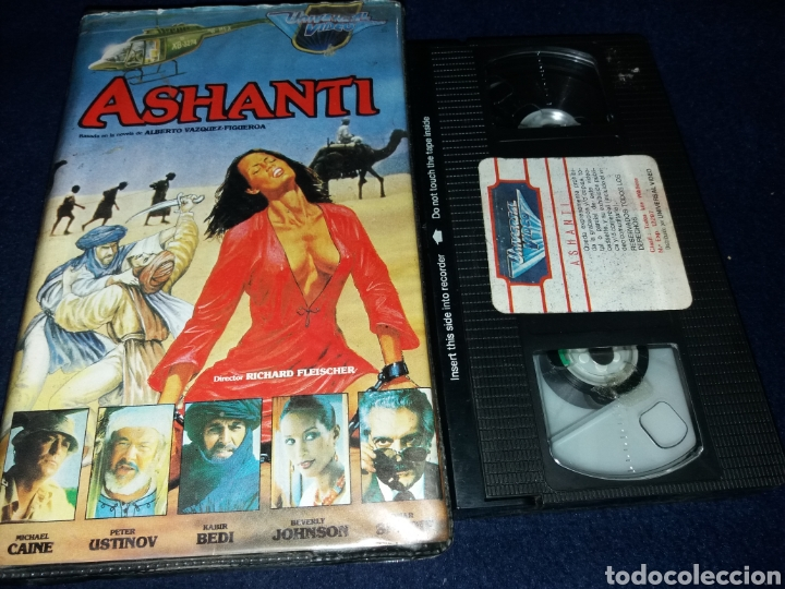 ASHANTI- VHS- MICHAEL CAINE (Cine - Películas - VHS)