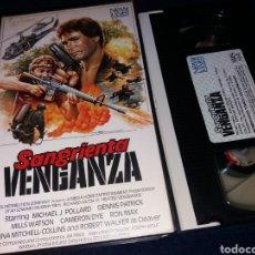 Cine: SANGRIENTA VENGANZA- VHS- DIR: EDWARD MURPHY. Lote 145861142
