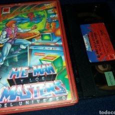 Cine: HE-MAN Y LOS MASTERS DEL UNIVERSO VOL.18- VHS. Lote 145861733