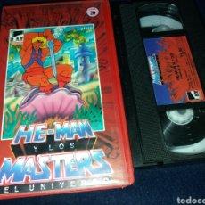 Cine: HE-MAN Y LOS MASTERS DEL UNIVERSO VOL.20- VHS. Lote 145861764
