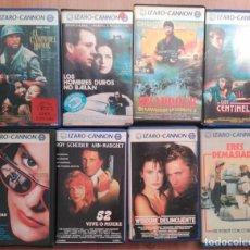 Cine: LOTE DE 8 PELÍCULAS CANNON VHS. Lote 145874754