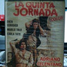 Cine: LA QUINTA JORNADA - DARIO ARGENTO - ADRIANO CELENTANO - REGALO MONTAJE. Lote 145932162