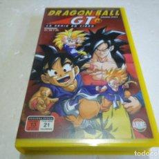 Cine: DRAGÓN BALL GT 13 EPISODIOS 37,38,39 VHS. Lote 146089942