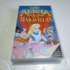 Cine: ALICIA EN EL PAÍS DE LAS MARAVILLAS VHS. Lote 146090758