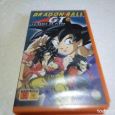 Cine: DRAGÓN BALL GT 10 EPISODIOS 28,29,30 VHS. Lote 146247746