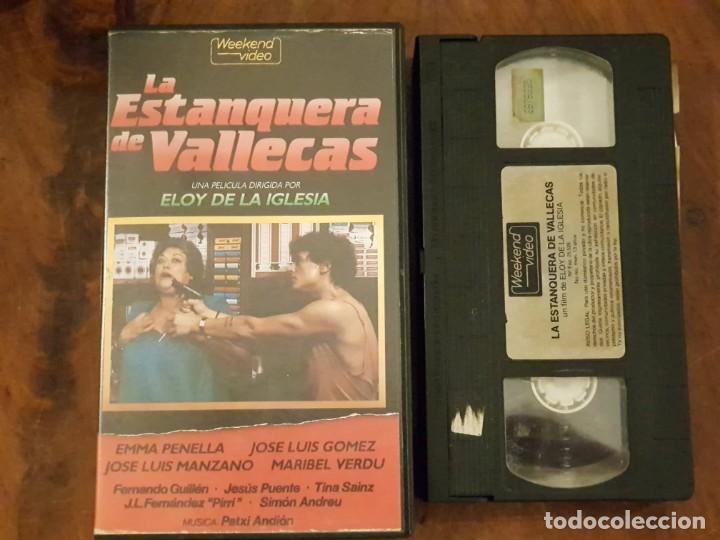 LA ESTANQUERA DE VALLECAS - ELOY DE LA IGLESIA - EMMA PENELLA , JOSE LUIS GOMEZ - WEEKEND 1986 (Cine - Películas - VHS)