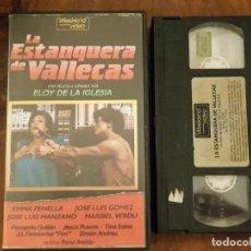 Cine: LA ESTANQUERA DE VALLECAS - ELOY DE LA IGLESIA - EMMA PENELLA , JOSE LUIS GOMEZ - WEEKEND 1986. Lote 180170410