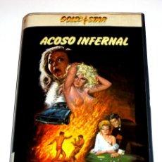 Cine: ACOSO INFERNAL (UN CORPO CALDO PER L'INFERNO)(1969) - FRANCO MONTEMURRO JEAN VALMONT KRISTA NELL VHS. Lote 146320802