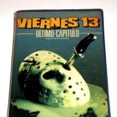 Cine: VIERNES 13 PARTE 4 : ULTIMO CAPITULO (1984) - JOSEPH ZITO JUDIE ARONSON COREY FELDMAN VHS 1ª EDICIÓN. Lote 146322394