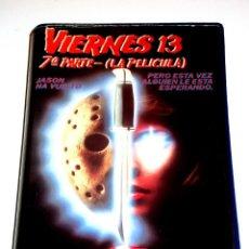 Cine: VIERNES 13 PARTE 7 : LA PELICULA (1988) - JOHN CARL BUECHLER JENNIFER BANKO TERRY KISER VHS 1ª EDIC.. Lote 146322410