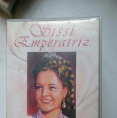 Cine: VHS PELICULA ROMY SCHNEIDER -SISSI EMPERATRIZ . Lote 146426966