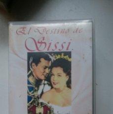 Cine: VHS PELICULA ROMY SCHNEIDER -EL DESTINO DE SISSI. Lote 146427310