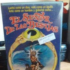 Cine: EL SEÑOR DE LAS BESTIAS VHS PRIMERA EDICION. Lote 146500886