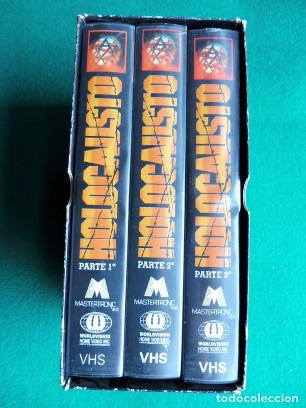 Cine: PAQUETE DE 10 LOTES DE PELÍCULAS VHS COLECCIONES COMPLETAS - Foto 5 - 146516370