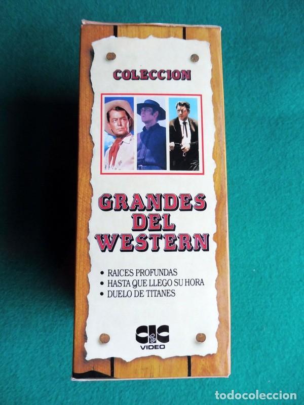 Cine: PAQUETE DE 10 LOTES DE PELÍCULAS VHS COLECCIONES COMPLETAS - Foto 8 - 146516370