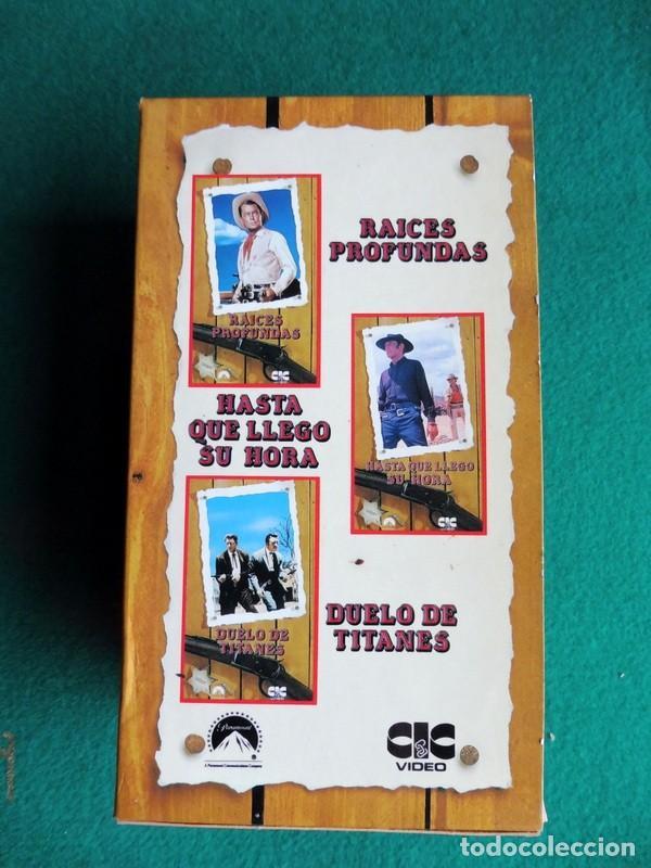 Cine: PAQUETE DE 10 LOTES DE PELÍCULAS VHS COLECCIONES COMPLETAS - Foto 9 - 146516370
