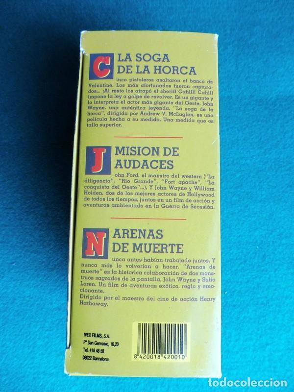 Cine: PAQUETE DE 10 LOTES DE PELÍCULAS VHS COLECCIONES COMPLETAS - Foto 10 - 146516370