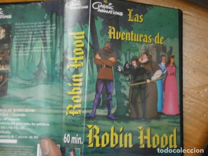 LAS AVENTURAS ROBIN HOOD (Cine - Películas - VHS)