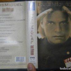 Cine: ¡LUIS MIGUEL LOS VIDEOS¡¡¡DISPONEMOS DE MAS,DE,60.000,PELICULAS,VHS,BETA,2000,. Lote 146687578