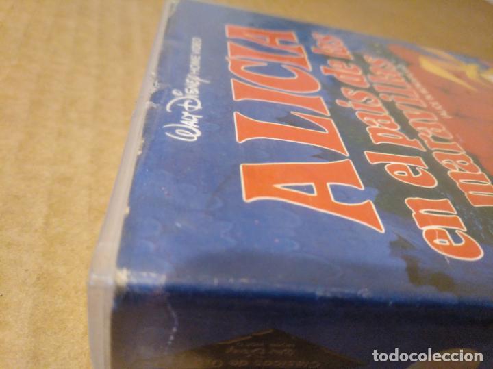 Cine: Alicia en el pais de las maravillas vhs 1ªedicion 1990 audio antiguo - Foto 6 - 146729866