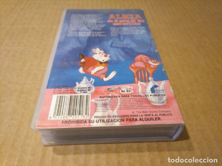 Cine: Alicia en el pais de las maravillas vhs 1ªedicion 1990 audio antiguo - Foto 8 - 146729866