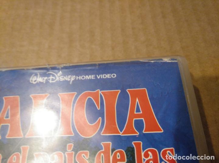 Cine: Alicia en el pais de las maravillas vhs 1ªedicion 1990 audio antiguo - Foto 9 - 146729866
