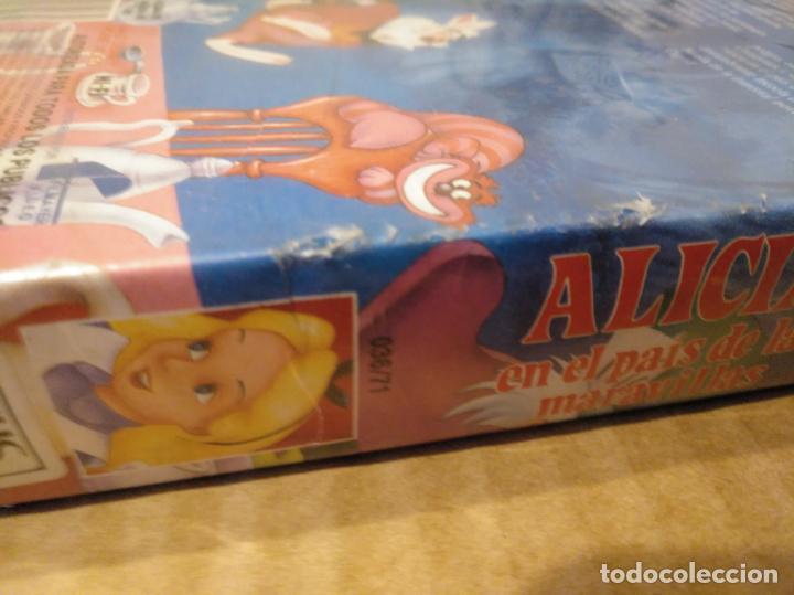 Cine: Alicia en el pais de las maravillas vhs 1ªedicion 1990 audio antiguo - Foto 10 - 146729866