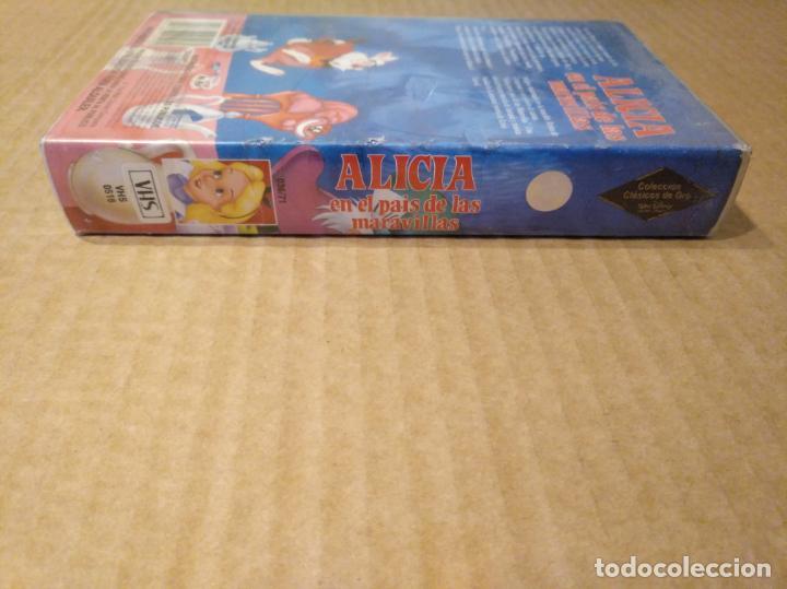 Cine: Alicia en el pais de las maravillas vhs 1ªedicion 1990 audio antiguo - Foto 13 - 146729866