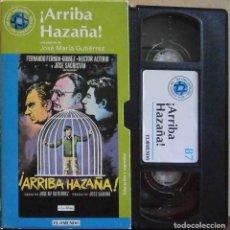 Cine: TODOVHS: ARRIBA HAZAÑA. JOSÉ MARÍA GUTIÉRREZ SANTOS (FERNANDO FERNÁN GÓMEZ, HÉCTOR ALTERIO). Lote 146797946
