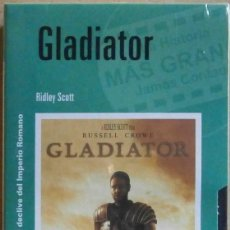 Cine: TODOVHS: PRECINTADO. GLADIATOR (RUSSELL CROWE, JOAQUIN PHOENIX, CONNIE NIELSEN, OLIVER REED). Lote 146812034