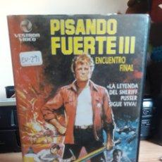 Cine: PISANDO FUERTE III VHS. Lote 147037762