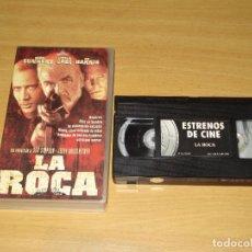 Cine: LA ROCA (SEAN CONNERY, NICOLAS CAGE). PELÍCULA VHS. COLECCIÓN ESTRENOS DE CINE. Lote 147072662