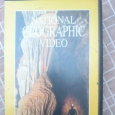 Cine: VHS - NATIONAL GEOGRAPHIC VIDEO - MISTERIOS DEL MUNDO SUBTERRANEO. Lote 147107614
